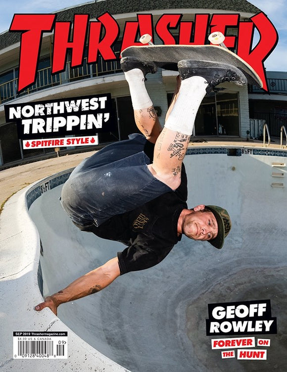 THRASHER MAGAZINE September 2019