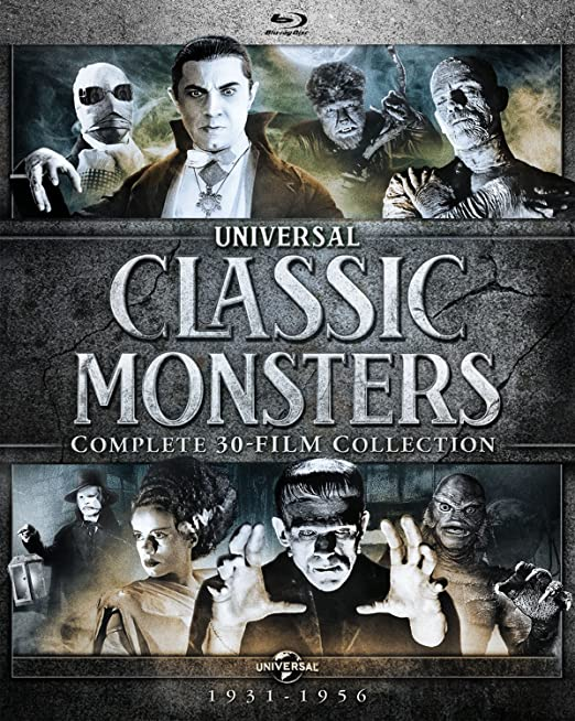 Universal Classic Monsters Complete 30-Film Collection (Blu-ray boxset)