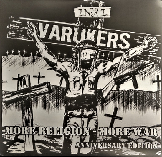 VARUKERS - More Religion More War LP (blue)