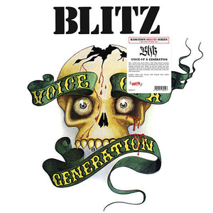 BLITZ - Voice Of A Generation LP