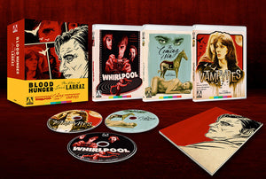Blood Hunger: The Films of José Larraz (Blu-ray boxset)
