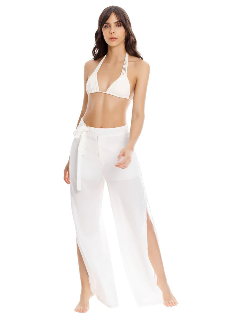 Earth Pant. Beach Pant In Ivory. Entreaguas