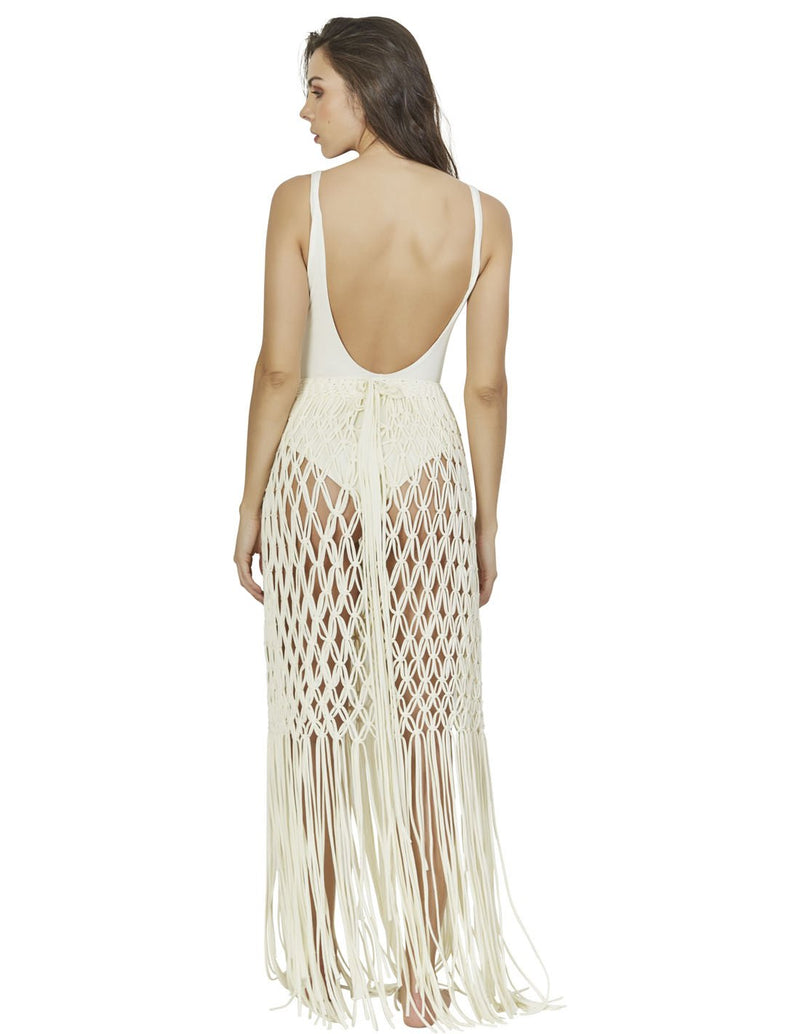 beach skirt with macrame in special color root lcs015299 3
