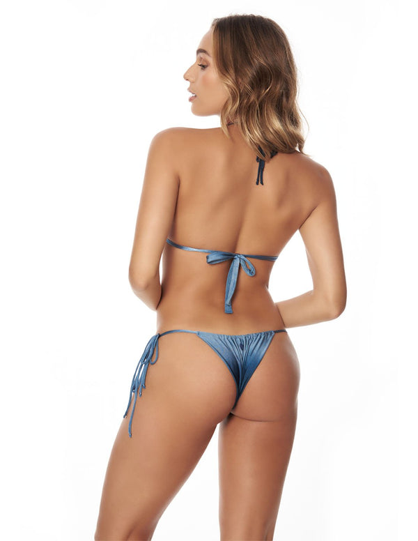 Shells Orbit Two Piece Blue Sunset. Two Piece Bikini Set In Blue Sunset. Entreaguas