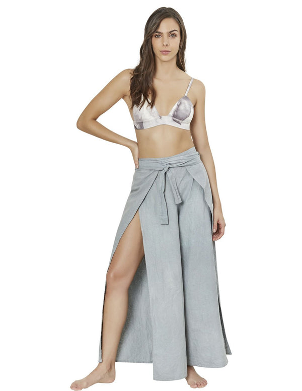 beach pant in dark gray air 1