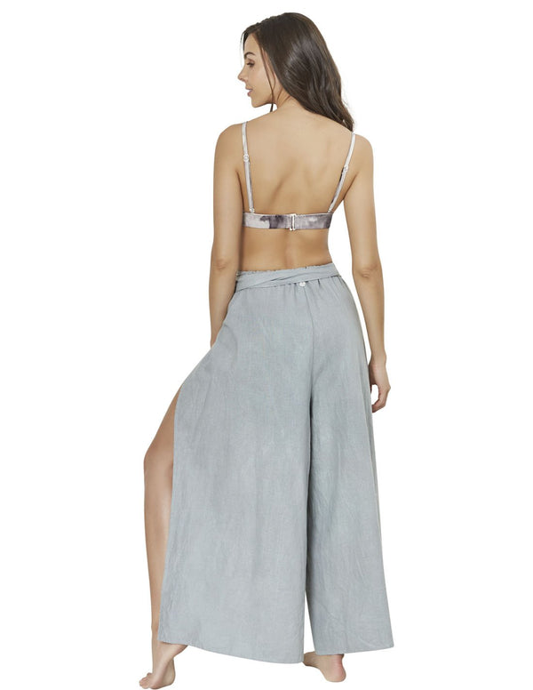 beach pant in dark gray air 2