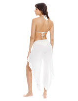 Encyclia Pant Ivory. Beach Pant In Ivory. Entreaguas