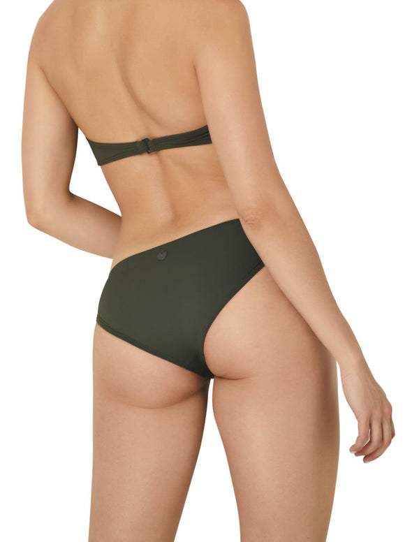 Bottom Army Green. Bikini Bottom In Army Green. Entreaguas