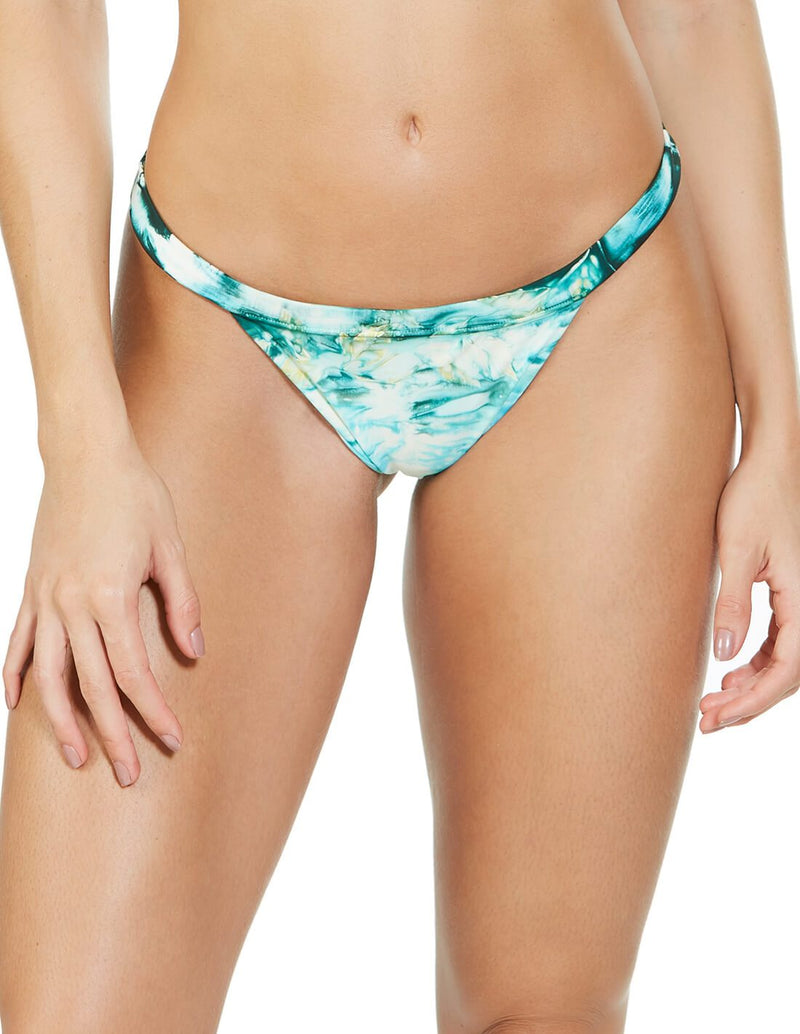 Helechilla De Mar Bottom. Hand-Dyed Bikini Bottom In Selene. Entreaguas
