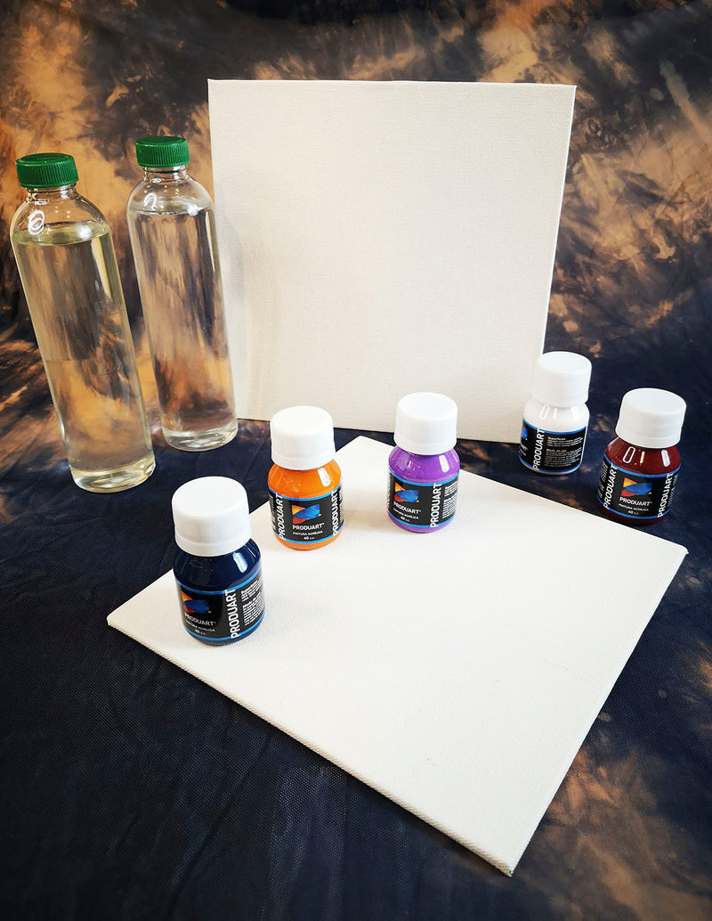 Fluid Art Kit + Live Workshop Access