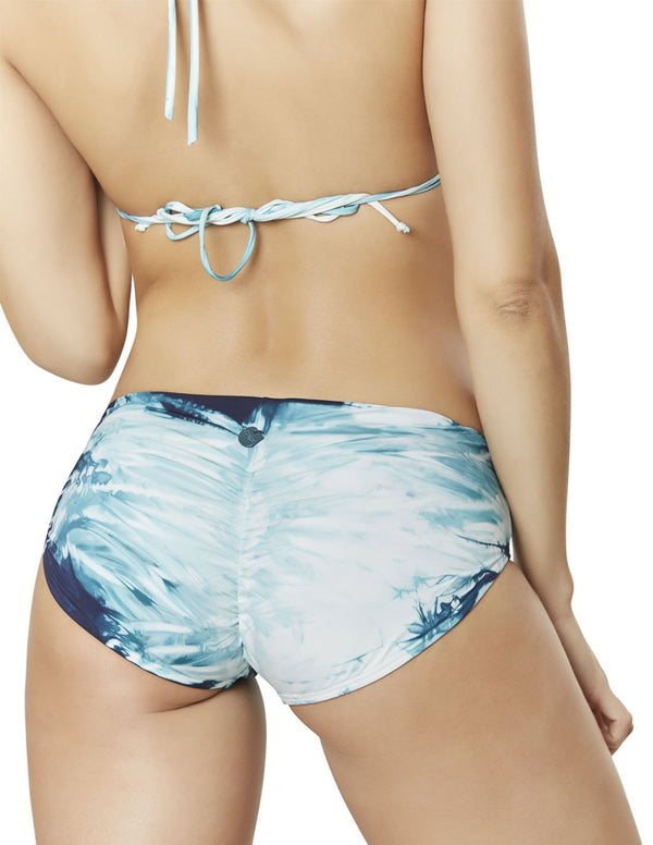Soil 4 Bottom. Hand-Dyed Short Bikini Bottom In Oil (Hd). Entreaguas