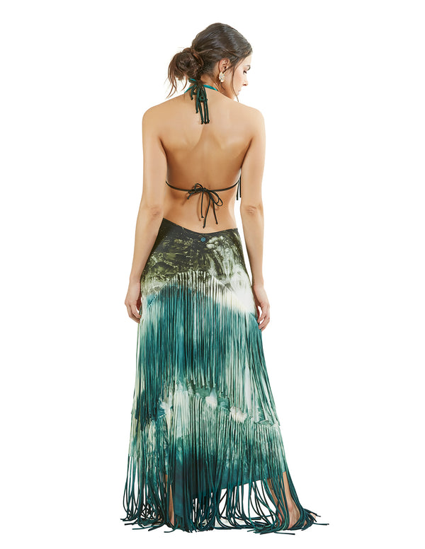 Rigel Dust Hand Dyed Skirt