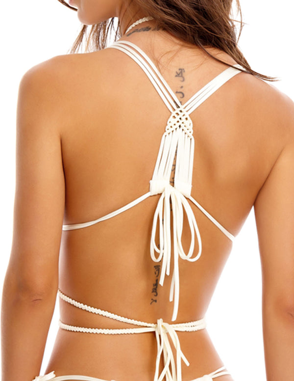 Lux 2 Body Chain Ivory