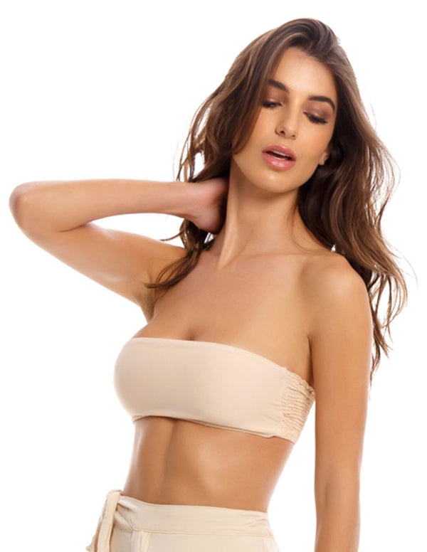Trouvaille Top Nude. Bikini Top In Nude. Entreaguas