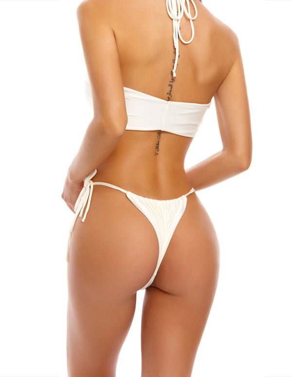 Rosso Bottom Ivory. Bikini Bottom In Ivory. Entreaguas