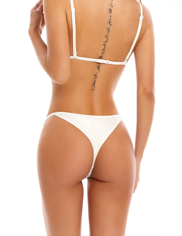 Fernweh Bottom Ivory. Bikini Bottom In Ivory. Entreaguas