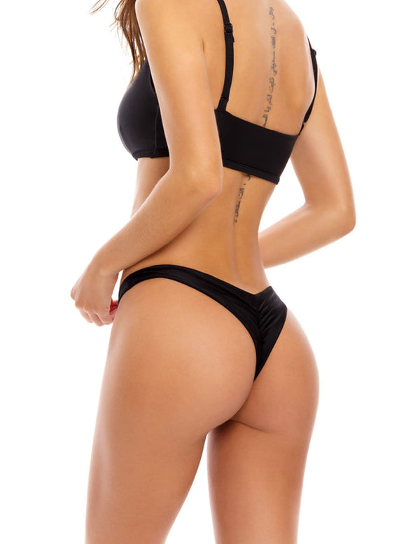 Sonder Bottom Black. Bikini Bottom In Black. Entreaguas