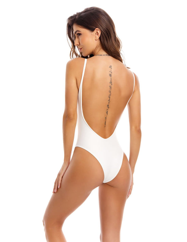 Derivé One Piece Ivory. One Piece Swimsuit In Ivory. Entreaguas