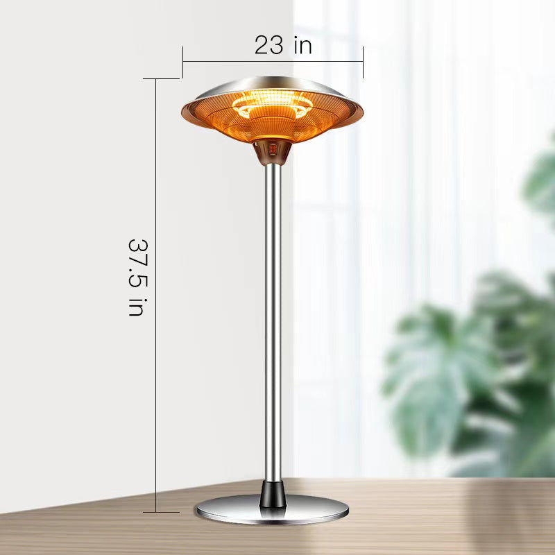 Portable Electric Tabletop Indoor/Outdoor  Patio Heater Lamp 1500W