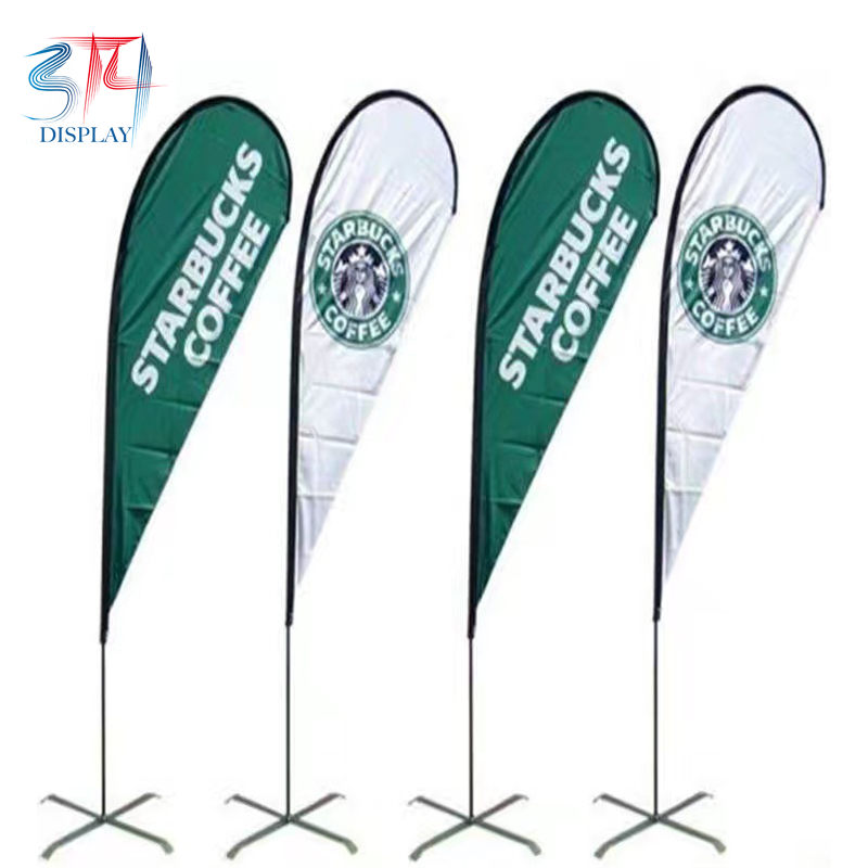 Custom Printed Outdoor Teardrop Flags - 314display