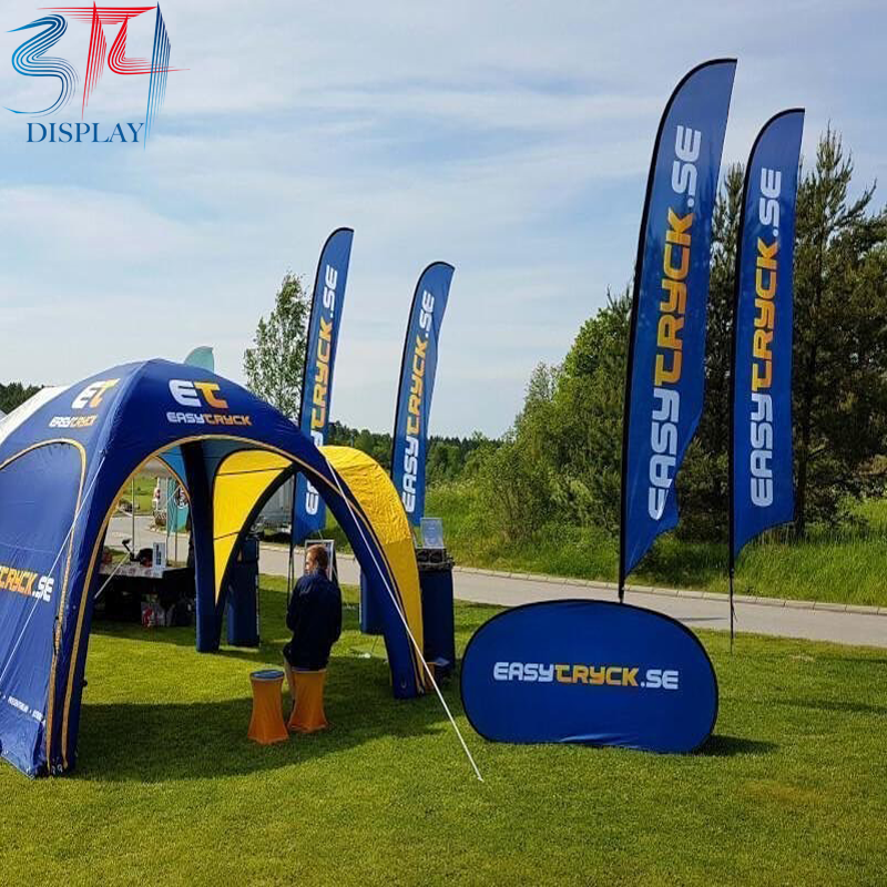 Custom Printed Advertising Inflatable Tents - 314display