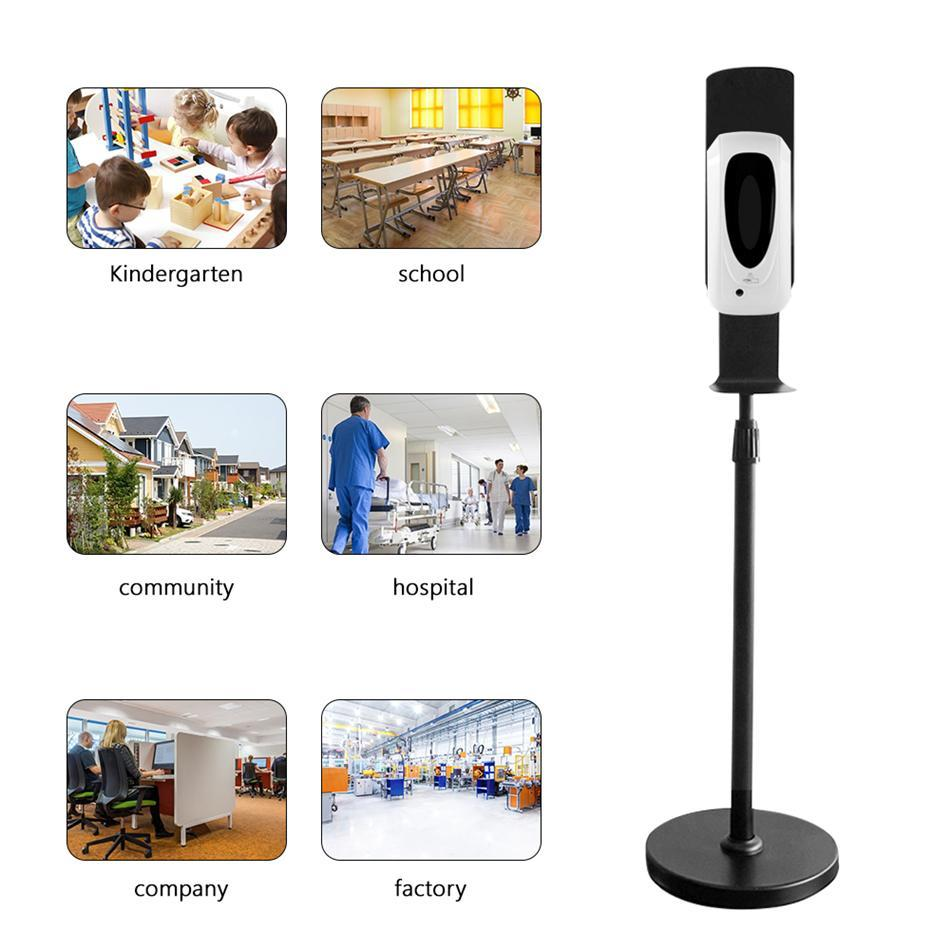Automatic Touchless Hand Sanitizer Stand With Spray Dispenser