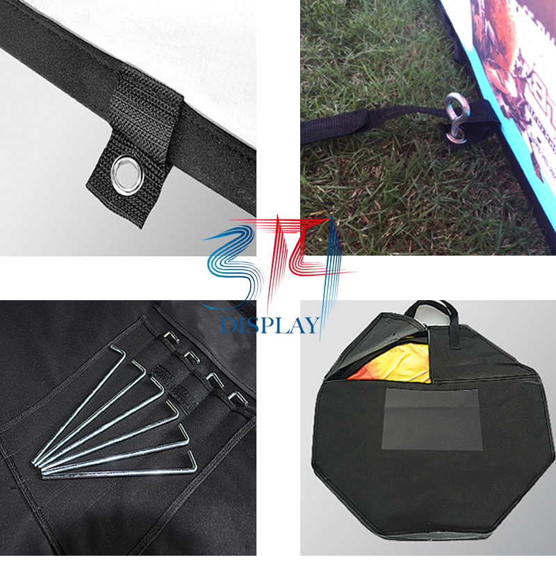 Custom Printed Triangle Pop Up Banners - 314display