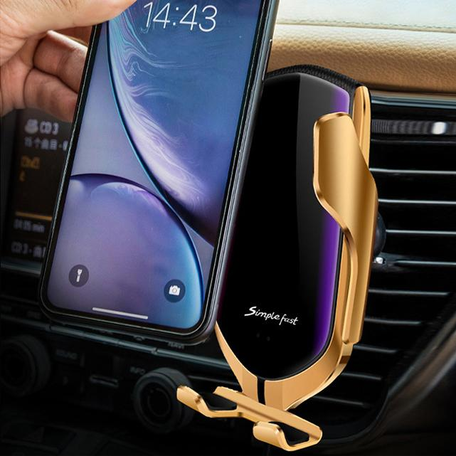 Automatic Wireless Phone Holder Charger For Car