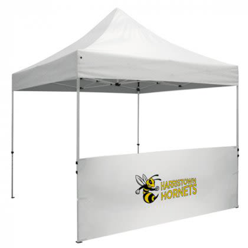 6ft Custom Printed Canopy Tent Half Walls