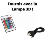 Lampe 3D Ballon de Football Original