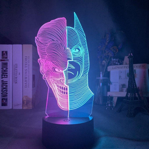 Lampe 3D Batman & Joker