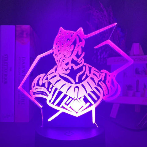 Lampe 3D Black Panther Guerrier