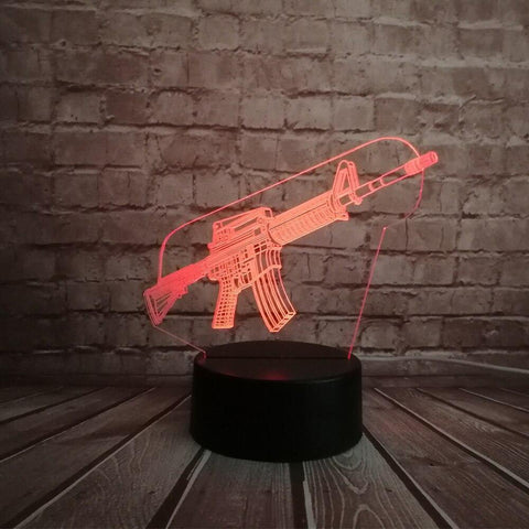 Lampe 3D Fortnite Fusil d'Assaut