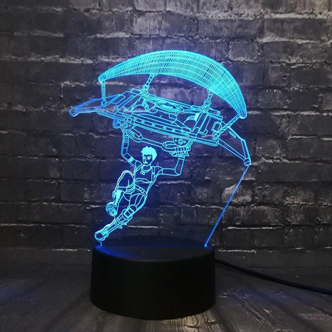 Lampe 3D Fortnite Planeur