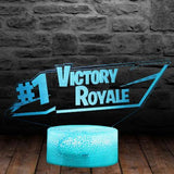 Lampe 3D Fortnite Victoire Royale