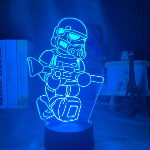 Lampe 3D Mini Stormtrooper