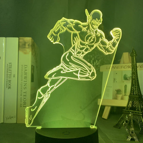 Lampe 3D The Flash | Univers Lampe