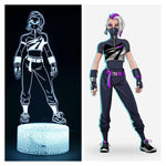 Skin Lampe 3D Fortnite Déclic