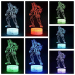 LED Lampe 3D Fortnite Hybride