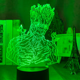 Lampe hologramme 3D Vieux Groot