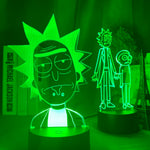 Lampe led 3D Rick et Morty Offerte