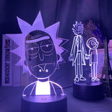 Lampe 3D led Rick et Morty Offerte