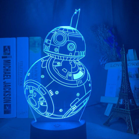 Lampe 3D Star Wars BB8