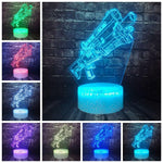Lampe 3D LED Fortnite Pompe Tactique