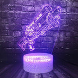 Lampe LED 3D Fortnite Pompe Tactique