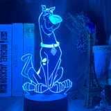 Lampe 3D led Scooby Doo