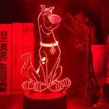Lampe led 3D Scooby Doo