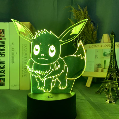 Lampe 3D Evoli Pokemon