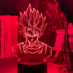 Lampe led 3D Goku Dragon Ball