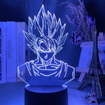 Lampe 3D Goku Dragon Ball